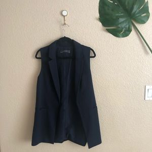 The Limited Navy Vest